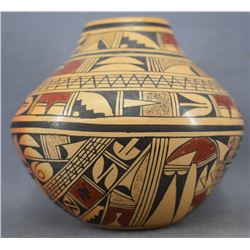 HOPI INDIAN POTTERY VASE ( EMMA NAHA)