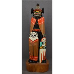HOPI INDIAN KACHINA (WILFRED KAYE)