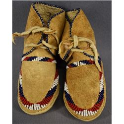 APACHE INDIAN BABY MOCCASINS