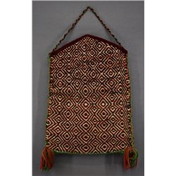 NAVAJO INDIAN TEXTILE PURSE