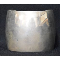 NAVAJO INDIAN SILVER CUFF