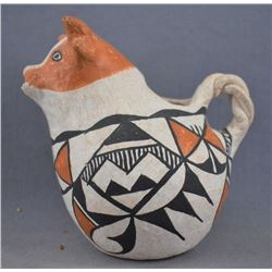 ACOMA INDIAN POTTERY PITCHER