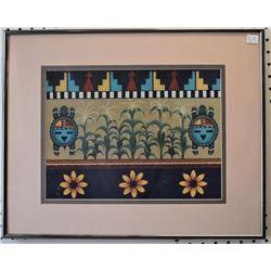 HOPI INDIAN PRINT (FRANCES QUOTSKUYVA)
