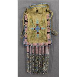 APACHE INDIAN DICE BAG