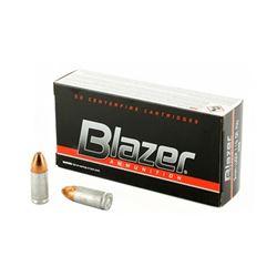 BLAZER 9MM 115GR FMJ - 50 Rds