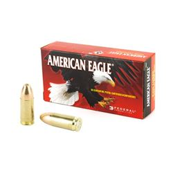 FED AM EAGLE 9MM 124GR FMJ - 50 Rds