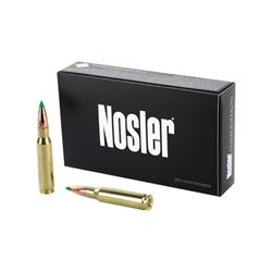 NOSLER 308WIN 165GR BT HUNT - 20 Rds