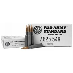 RED ARMY STD WHT 762X54R - 20 Rds