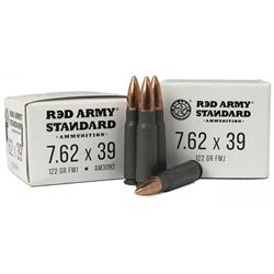 RED ARMY STD WHT 762X39 - 100 Rds