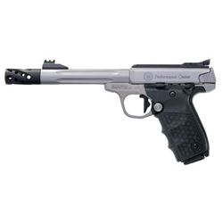 """S& W VICTORY PC 22LR 10RD 6"""" FLUTED"""