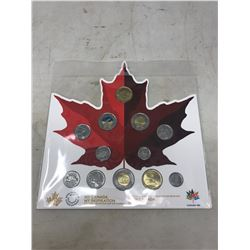 2017 12-COIN SET MY CANADA, MY INSPIRATION COIN COLLECTION. CELEBRATES THE 150TH ANNIVERSARY OF CANA