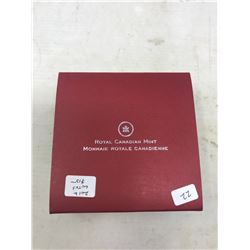 2012 Lunar Lotus Year of the Dragon $15. Proof. .9999 pure silver. In case and box of issue.