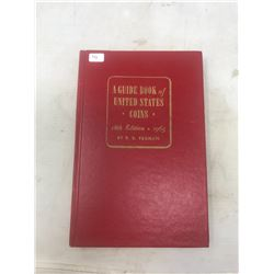 1965 A Guide Book of United States Coins, 18th Edition. By R.S. Yeoman. The famous Red Book. Hard Co
