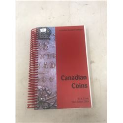 2004 Charlton Standard Catalogue of Canadian Coins 58th Edition. By W.K. Cross. Spiral Bound. Near N
