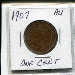1907 Edward Large Cent