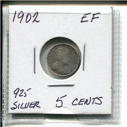 1902 Edward Five Cents
