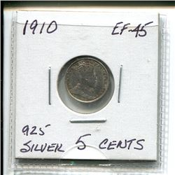1910 Edward Five Cents