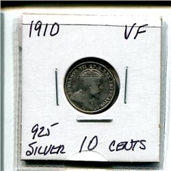 1910 Edward Ten Cents