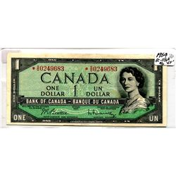1954 *Replacement One Dollar Bill