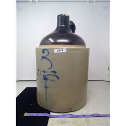 Antique 3 Gallon Bee Sting Whiskey Jug (No Cracks, Small Chip on Mouth)