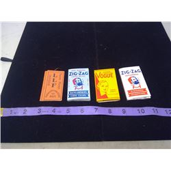 Vogue, Zig Zag, LLF - Cigarette Paper