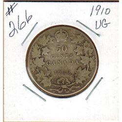 1910  50 CENT PIECE