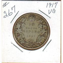 1917  50 CENT PIECE