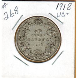 1918  50 CENT PIECE