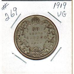 1919  50 CENT PIECE