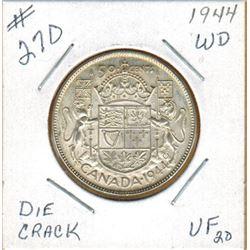 1944  50 CENT PIECE
