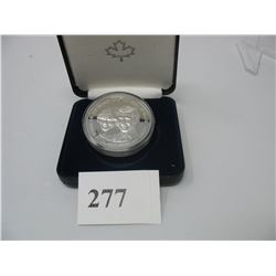1983 CANADA PROOF SILVER COIN - PRINCE CHARLES & DIANA WEDDING