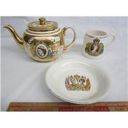 3 Pieces of Royalty China