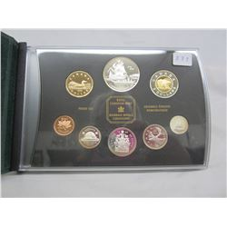 1999 Poof Set most coins sterling
