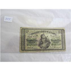 Dominion of Canada 1870 Shinplaster