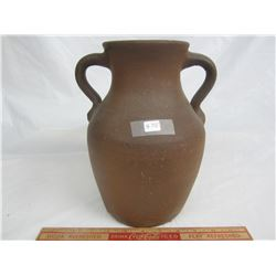 Early Canadian Stoneware Crock 10 inches high