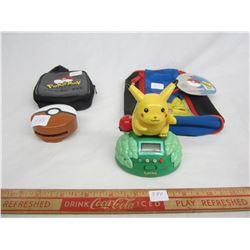 Lot of 4 Vintage Pokémon Toys
