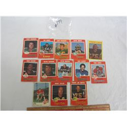 Mixed Lot of 1970's CFL Football Cards