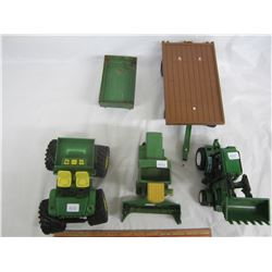 Lot of farm related toys tractors ect.
