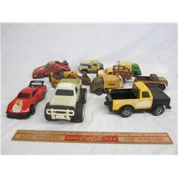 Lot of 10 vintage Tonka Toys mini Tonkas ect.