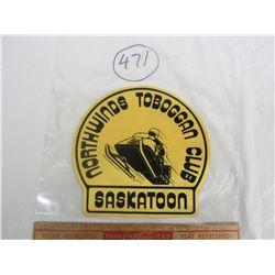Saskatoon Ski Doo club patch 1960's NOS