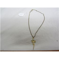 Elvis Prestly Taking Care of Business chain and Pendant original chain 1960's