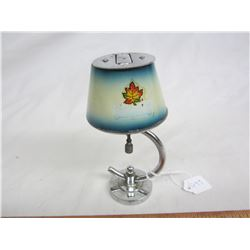 Rare Cigarette Lighter shaped like a lamp working condition