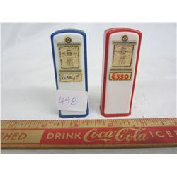 1960's Esso salt and pepper shakers Tisdale