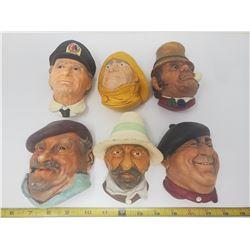 6 bosson heads