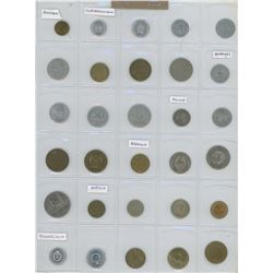 Lot Of 30 Different Russian & Eastern European Coins- Includes Bulgaria Czechoslovakia, Hungary, Pol