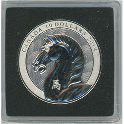 2013 Year of the Horse $10. .9999 pure silver. Only 25,436 sold. In hard plastic case. Proof.
