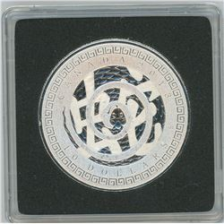 2013 Year of the Snake $10. .9999 pure silver. Only 5,647 sold. In hard plastic case. Proof.