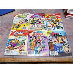 6 Archie comics