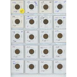 sheet of pennies