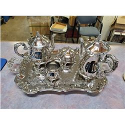 Silver plated tea & coffee set (never used)
